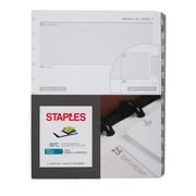 "Staples® Arc System 2018 Weekly Planner Refill Paper, 8-1/2"" x 11"" (28104-18)"