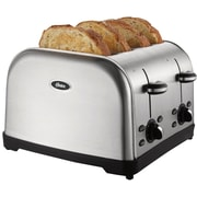 Oster 4 Slice Stainless Steel Toaster (TSSTTRWF4S-NP)