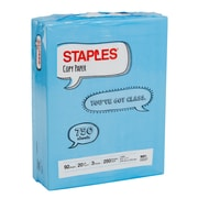 "Staples 8.5"" x 11"" Copy Paper, 750 Sheets"