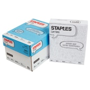 "Staples 8.5"" x 11"" Copy Paper, 4 Reams"