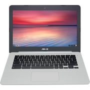 "Refurbished Asus 13.3"" Chromebook C301SA-IB04 (Intel Celeron, 32GB eMMC, 4GB RAM, Intel HD Graphics 400)"