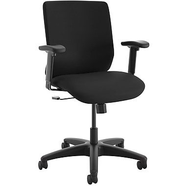 HON ComfortSelect B6 Mesh/Fabric Task Chair, Black NEXT2017