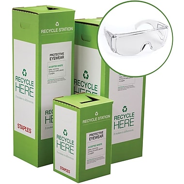 Staples ® Protective Eyewear Zero Waste Recycling Box - Small
