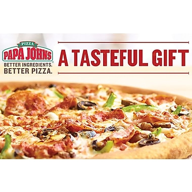 Papa Johns Gift Card $100 (Email Delivery)