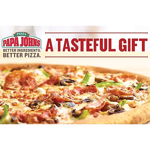 Papa Johns Gift Card $25 (Email Delivery)