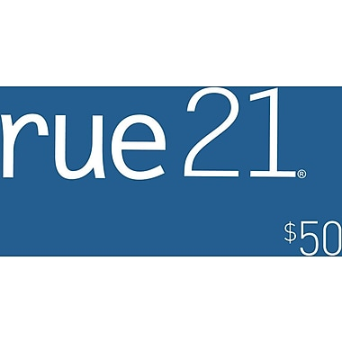 Rue 21 Gift Card $50 (Email Delivery)