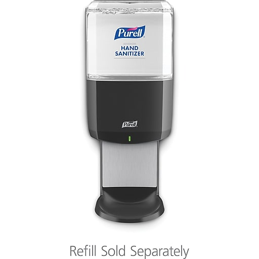 PURELL® ES6 Touch-Free Hand Sanitizer Dispenser, Graphite, for 1200 mL PURELL ES6 Hand Sanitizer Refills (6424-01)