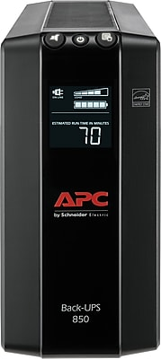 APC Back-UPS Pro Compact Tower 850VA LCD Screen 8 Outlet (BX850M)