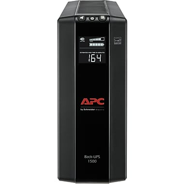 APC Back-UPS Pro Compact Tower 1500VA LCD Screen 10 Outlet (BX1500M)