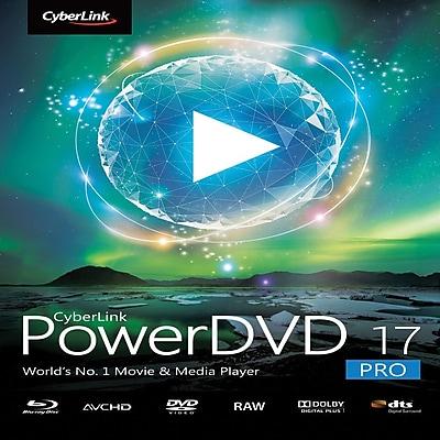 CyberLink PowerDVD 17 Pro for Windows (1 User) [Download]
