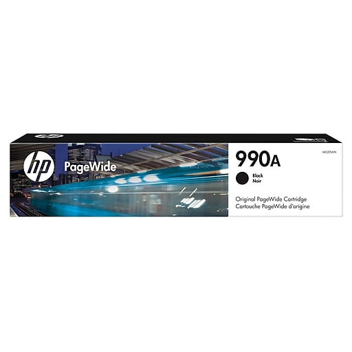 HP 990A Black Ink Cartridge, Standard Yield