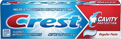 Crest ® PAG30501 Cavity Protection Toothpaste, 0.85 oz.