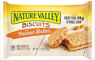 Nature Valley™ Biscuits with Peanut Butter, 1.35 Oz., 16/CT