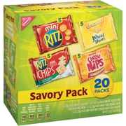 Nabisco Savory Mix Variety Snack Pack, 20/CT