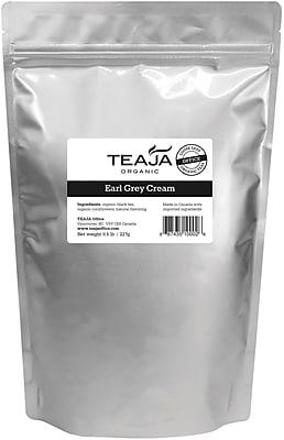 Teaja® Organic Earl Grey Cream Loose Leaf Tea, 0.5 lb