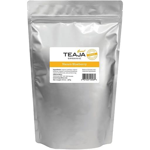 Teaja® Organic Nana's Blueberry Loose Leaf Tea, 0.5 lb