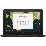 "Dell Chromebook 3180 11.6"" HDF Non-Touch Student Laptop, Intel Celeron N3060 Processor"