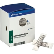 First Aid Only® SmartCompliance™ Refill, Ammonia Inhalants, 10/Box (FAE-7025)