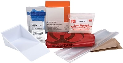 First Aid Only® Spill Clean-Up Pack (21-760)