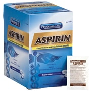 First Aid Only® PhysiciansCare® Aspirin 125 Packets of 2 Tablets (54034)