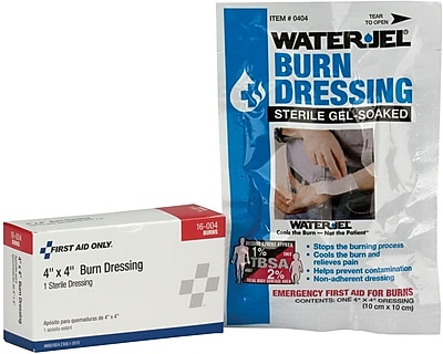 First Aid Only® Burn Dressing, 4