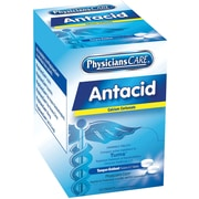 First Aid Only® PhysiciansCare® Antacid, 125 Packets of 2 Tablets (90110)