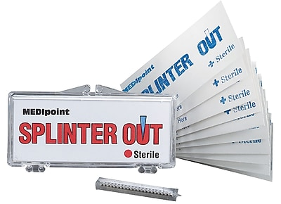 First Aid Only Splinter Out, 10/Box (22-410) 2708490
