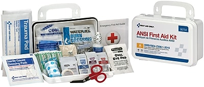 First Aid Only® 10 Person Bulk First Aid Kit, ANSI A Compliant, Plastic (90754)
