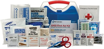 First Aid Only® 25 Person Ready Care Small Plastic ANSI A Compliant Kit (90697)