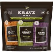 Krave® Jerky Variety Pack, 10 Oz., 10/PK