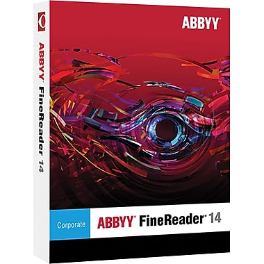 ABBYY FineReader 14 Corporate for Windows (1 User) [Download]