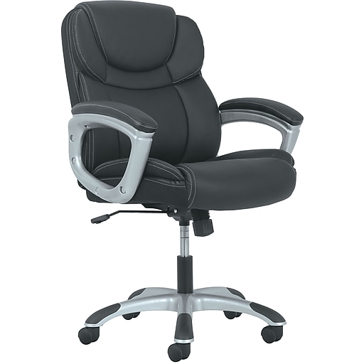 basyx by hon mid back executive chair staples