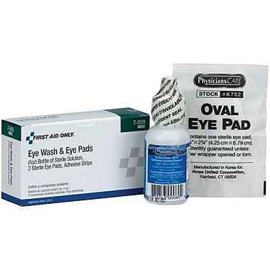 First Aid Only® Eye Care Pack, 4 Piece (B717)