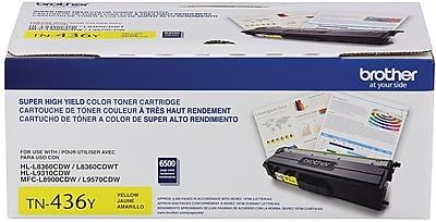 Brother Toner Cartridge, Yellow, Super High-Yield (TN436Y)