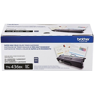 Brother Toner Cartridge, Black, Super High Yield (TN436BK)