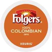Keurig Folgers Colombian Coffee Regular 24 K-Cups/Pack (6659)