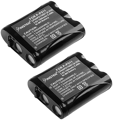 Insten Uniden BT-905 Cordless Phone Rechargeable Battery, 2 Pack