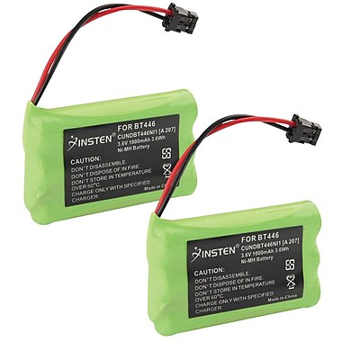 Insten® Uniden BT-1007 BT-1015 Cordless Home Phone Replacement Battery 1400 mAh, 2/Pack(316587)