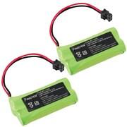 Insten® Cordless Home Phone Rechargeable Battery for VTech BT-17333 BT17333 BT-27333 CS2111, 2/Pack(823799)