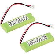 Insten Cordless Home Phone Battery Pack, 2 Pack (1171452)