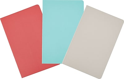 Martha Stewart Stitched Notebook, Junior-Size, Assorted Colors (29722)