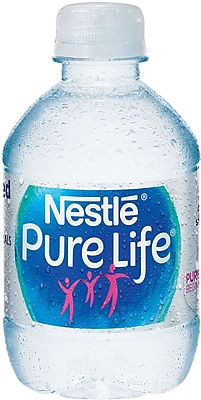 Nestle® Pure Life® Juniors Purified 8 oz. Bottled Water, 24/CS