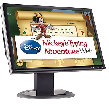 Individual Software Disney Mickey's Typing Adventure Web - Quarterly Subscription for Windows (1 User) [Download]