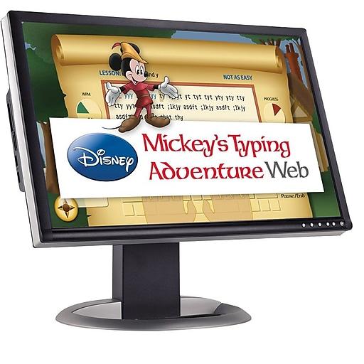 Individual Software: Individual Software Disney Mickey's Typing Adventure Web