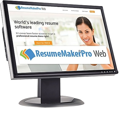 Individual Software ResumeMaker Professional Web - Monthly Subscription for Windows (1 User) [Download]