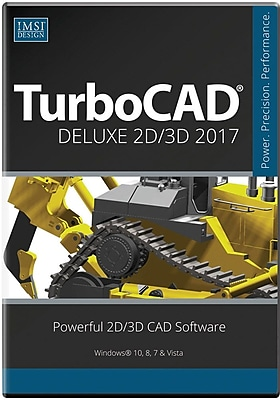 TurboCAD Deluxe 2017 for Windows (1 User) [Download]