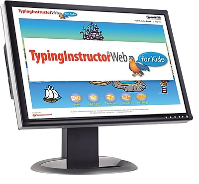 Individual Software Typing Instructor Web for Kids - Quarterly Subscription for Windows (1 User) [Download]