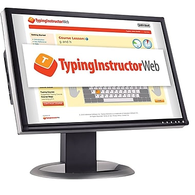Individual Software Typing Instructor Web - Annual Subscription for Windows (1 User) [Download]