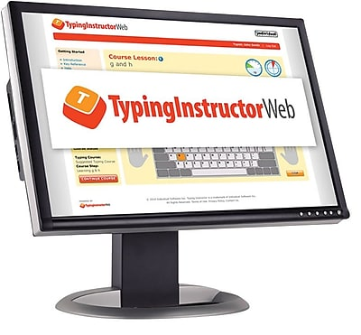 Individual Software Typing Instructor Web - Quarterly Subscription for Windows (1 User) [Download]