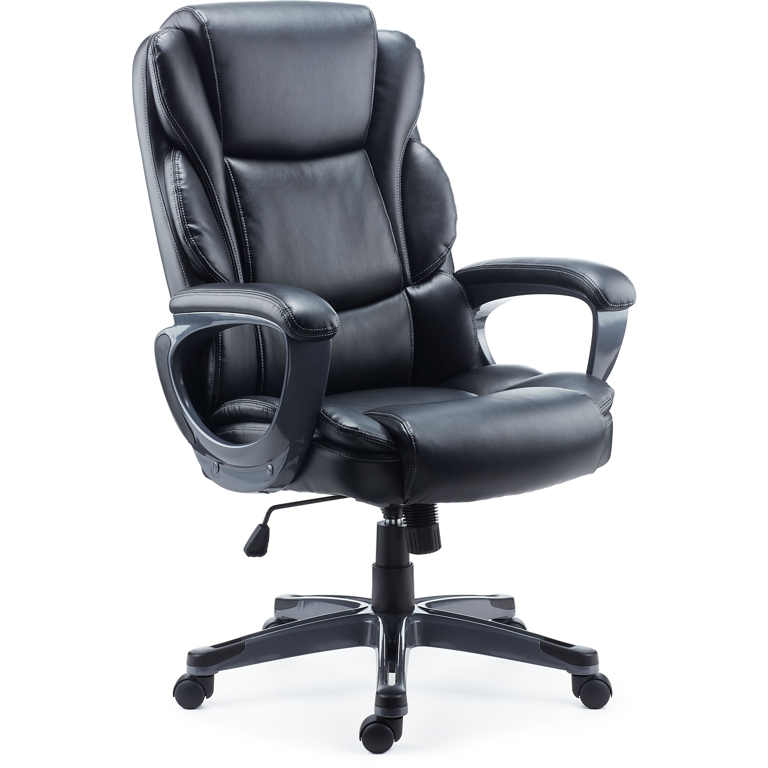 Staples Mcallum Bonded Leather Managers Chair